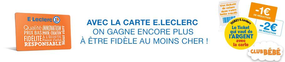 Carte Leclerc.Acces En Ligne Carte E Leclerc